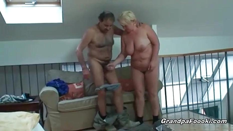 Naked grandpa old Naked old